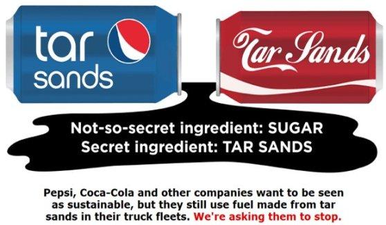 Pepsi-Coca-Tar-Sands